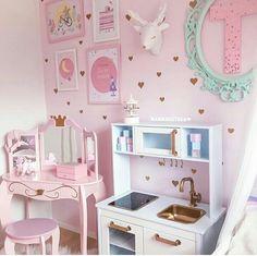 Big Girl Bedrooms, Little Girl Rooms, Girls Bedroom, Girls Room Design, Girl Bedroom Designs, Baby Room Decor, Room Decor Bedroom, Princess Room, Toddler Rooms