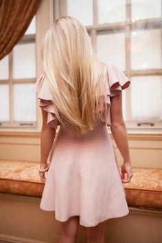 Soft Pink + Feminine Ruffles | Olivia Rink