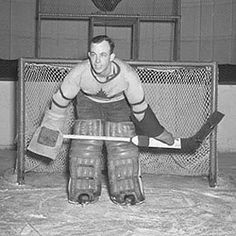 Paul Bibeault Field Goal Kicker, Hockey Cards, Baseball Cards, Goalie Mask, Good Old Times, Hockey Goalie, Nhl Players, Toronto Maple Leafs, Sports Pictures