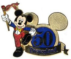 Pin 38499 DLR - 50th Anniversary (Mickey Mouse)
