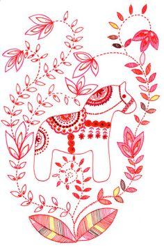 Dala horse septembre