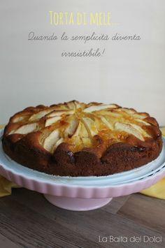 Torta di mele alla farina manitoba-labaitadeidolci