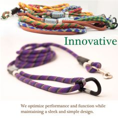 I own three of these leashes, they are the best leashes I have ever owned. The guy who makes them is really nice too.