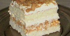 Pyszne ciasto biały lion, z ryżem preparowanym Polish Desserts, Dessert Cake Recipes, Angel Cake, Food Cakes, Something Sweet, Vanilla Cake, Avocado Hummus, Cheesecake, Food And Drink