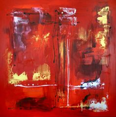 "Saatchi Art Artist Paresh Nrshinga; Painting, ""ABSTRACT/ Times square (large)"" - Featured on Inspired by Chinese New Year: Living Feng Shui - http://canvas.saatchiart.com/art/art-news/inspired-by-chinese-new-year-living-feng-shui"