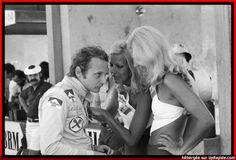 Niki Lauda con le ragazze 1973