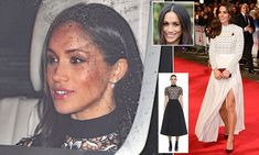 The bride-to-be, 36, revealed a polished new look as she arrived at Buckingham Palace for the Queen's annual Christmas lunch at Buckingham Palace with Prince Harry.