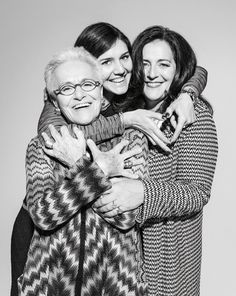 Rosita, Angela & Margherita! #DesignerSpotlight #Missoni