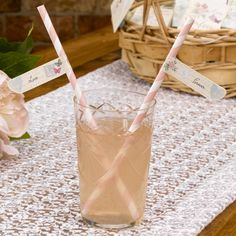 Love Straw Flags perfect to add a special touch to your drinks reception for a vintage wedding or celebration.  Packs of 30 flags which feature different words associated with your special day, such as 'Joy', 'Laughter', 'Happiness' and 'Celebration'. Simply attach to straws to add a really unique touch to a variety of drinks  £2.50 from www.fuschiadesigns.co.uk