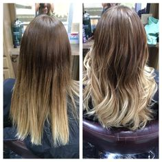 Beautiful ombre with Kara #seasonssalon #lorealpro #color #colorspecialist #btc #btcpics #cut #ombre
