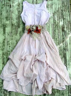 Romantic Boho Chic Maxi Dress