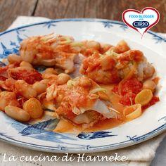#Involtini di #pesce con #cannellini, #porri e pomodoro   Cirio @hannekeharkema #foodblogger #pomodoro #ricetta #recipes #tomato #recipe #italianrecipe