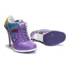 Nike DUNKSB Femme Violet Noir blanc