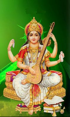 Shiva Hindu, Hindu Deities, Krishna Art, Hindu Art, Saraswati Statue, Saraswati Goddess, Goddess Lakshmi, Saraswati Mata, Lord Saraswati