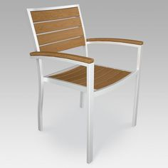 Have to have it. POLYWOOD® Euro Plastique Arm Chair - $279 @hayneedle