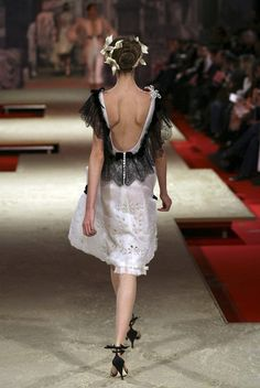 There she goes... Christian Lacroix Haute Couture Spring-Summer 2006 by Christian_Lacroix, via Flickr
