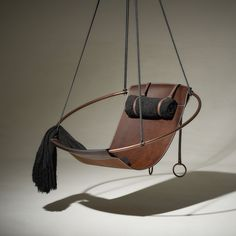 Hanging Swing Chair, Swinging Chair, Modern Hanging Chairs, Swing Chairs, Club Chairs, Hanging Beds, Lounge Chairs, Room Chairs, Thick Leather