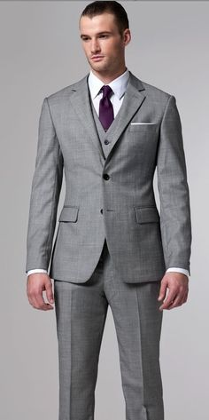 indochino three piece suits | Indochino - THE ESSENTIAL GRAY 3 PIECE SUIT | The Groom