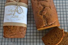 AMAZING Pumpkin Bread Recipe Breads with flour, pumpkin pie spice, ground nutmeg, cinnamon, baking soda, baking powder, salt, sugar, butter, eggs, pumpkin, water