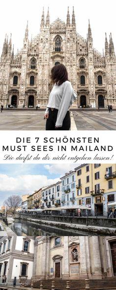 Mailand hat mich sofort begeistert. Deshalb habe ich heute die 7 schönsten Orte in Mailand. Fotolocations & Must Sees, die euch umhauen werden.  Reisetipps für Mailand. Milan, Milano, Travel, Tipps