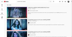 corpse bride roleplay - YouTube Corpse Bride, Youtube, Art, Art Background, Kunst, Performing Arts, Youtubers, Youtube Movies, Art Education Resources