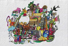 #aria #caos #ammuina #watercolor