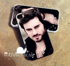 Once Upon a Time Captain Hook  iPhone 4/4s/5 by MuliaPhoneCase, $13.50