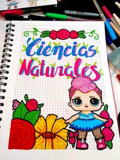 Carátula, marcos, bordes muñecas LOL cuaderno ciencias naturales Gifts For Campers, Camping Gifts, Notebook Art, Notebook Covers, Hig School, Bullet Journal Inspo, Game Pieces, Creative Gifts, Cool Drawings