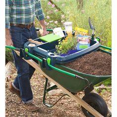 USA-Made Little Burro Garden Wheelbarrow Accessory | Garden Tools