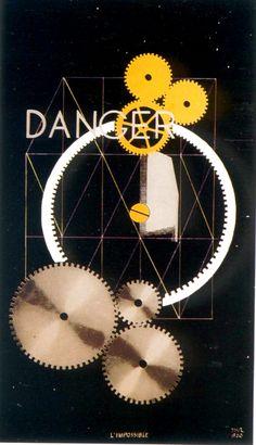 Man #Ray, Danger Dancer, 1917-1920 - @centrepompidou