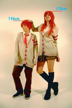 ^^ If I remember correctly Koizumi grows 3 centimete. Lovely Complex, Wattpad, Deviantart, Comics, Fun, Anime Cosplay, Fictional Characters, Cartoons, Fantasy Characters