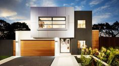 Fresh canvas... Metricon offers a geo-site modelling service for rebuild clients, who can chose from such design as Aria, pictured.