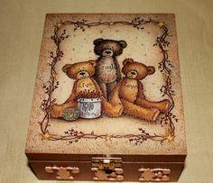 """Boîte à thé """"Teddy Bears"""""""