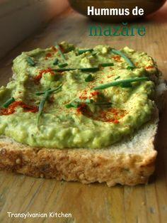 Pasta de mazare,humus Hummus, Avocado Toast, Guacamole, Mexican, Breakfast, Ethnic Recipes, Food, Recipes, Salads
