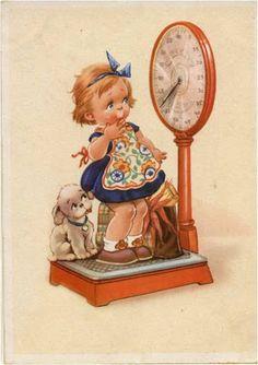 AMARNA IMAGENS: ILUSTRAÇÕES VINTAGE DE CRIANÇAS - servem também como postais Posters Vintage, Retro Poster, Vintage Postcards, Vintage Abbildungen, Vintage Prints, Vintage Pictures, Vintage Images, Cute Images, Cute Pictures