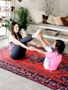 6 Yoga Moves You Can Do With Your Kids