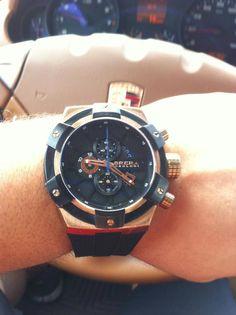 Brera Orologi fan, Marcos Ivan, is styling in his Supersportivo!