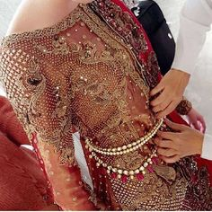 One of our favourite Sobia Nazir's upcoming bridal, the belted gown is must have…