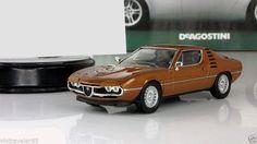 "1:43 ALFA ROMEO MONTREAL sport car Altaya  mod & mag series ""Supercars"" #ISTDeagostini #Lamborghini"