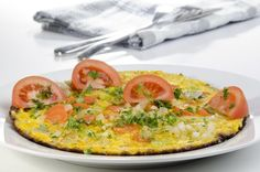 Scrambled Eggs with Vegetables