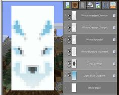 Minecraft Banner Patterns, Cool Minecraft Banners, Minecraft Room, Minecraft Plans, Amazing Minecraft, Minecraft Blueprints, Minecraft Crafts, Minecraft Dragon Banner, Minecraft Stuff