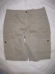 "Men's Levi's Cargo Shorts NWT $50 Light Brown 100% Cotton Relaxed Fit 29"" Waist #Levis #Cargo"