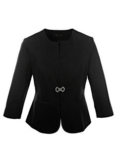 Gloockler collarless blazer | Blazers | Womens Clothing | bonprix