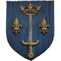 Joan of Arc's coat of arms, and - 10.6KB