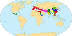 World map 250 CE - 3rd century - Wikipedia, the free encyclopedia