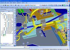 "http://www.mip-group.com/cocreate/cabling.htm 3D-модель жгута, созданная с помощью Creo Elements/Direct ""Cabling"". ""Cabling"" — это модуль Creo Elements/Direct ""Modeling""."