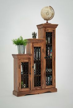 Jali Step CD Cabinet - left or right step (Low to high step left to right)