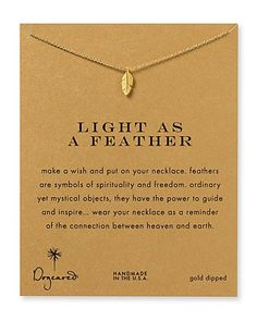 """Dogeared Light as a Feather Necklace, 18""""   Bloomingdale's"""