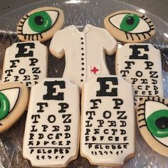 Cookies for the Eye Doctor!