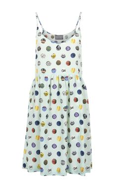 Every spot tells a story. Inspired by the East London atmosphere, this dress is part of the Spring Summer Collection 2016 by Antipodium. 100% Italian Silk Crepe De Chine.